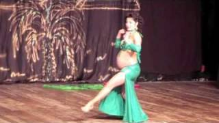 Diana Shiluva Belly Dance During Pregnancy!!