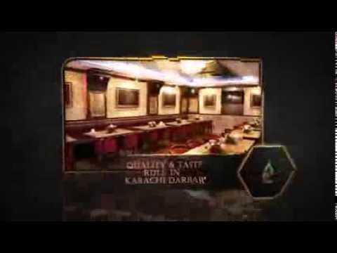 Karachi Darbar Restaurant Advertisement for Dhoom 3 Cinema Screens in United Arab Emirates
