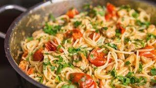 Chicken pasta recipe   ASMR Cooking Sounds