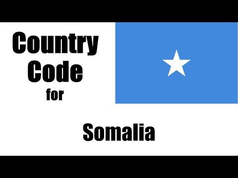 Somalia Dialing Code - Somalilander Country Code - Telephone Area Codes in Somalia