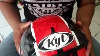 Tutorial membuka kaca helm KYT dj maru
