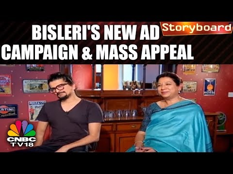 Bisleri's New Ad Campaign & Exclusive Interview With Anjana Ghosh And Anurag Khandelwal | CNBC TV18