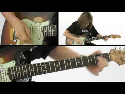 Blues Grit - #31 I Went Down Easy Performance - Guitar Lesson - Kelly Richley