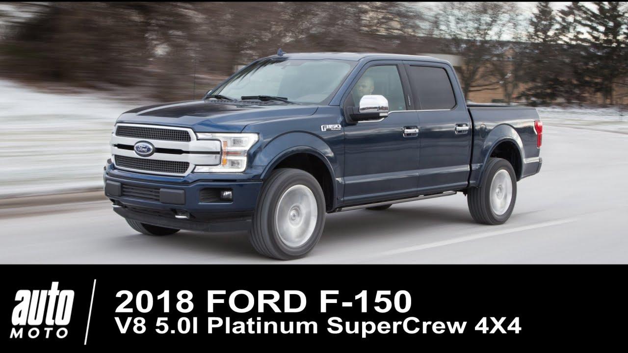2018 ford f 150 v8 platinum 4x4 supercrew essai auto youtube. Black Bedroom Furniture Sets. Home Design Ideas