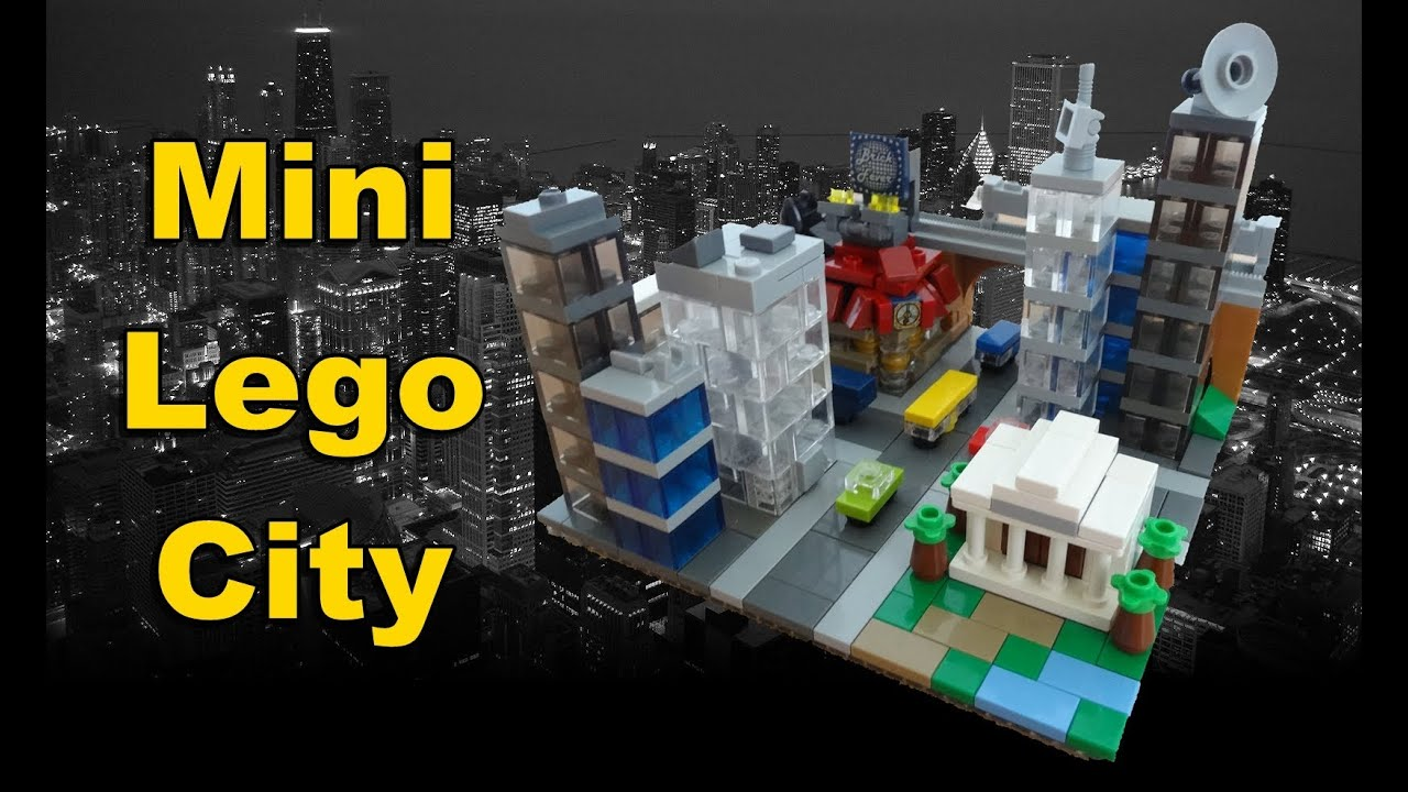 mini lego city youtube. Black Bedroom Furniture Sets. Home Design Ideas