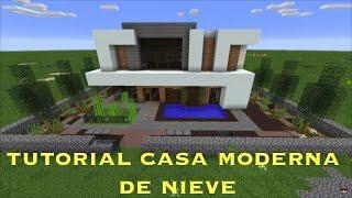 Tutorial Casa De Nieve Moderna (PT1)