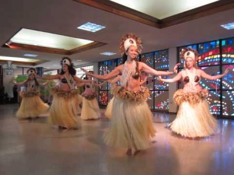 Tahitian Dance at the KCC International Festival