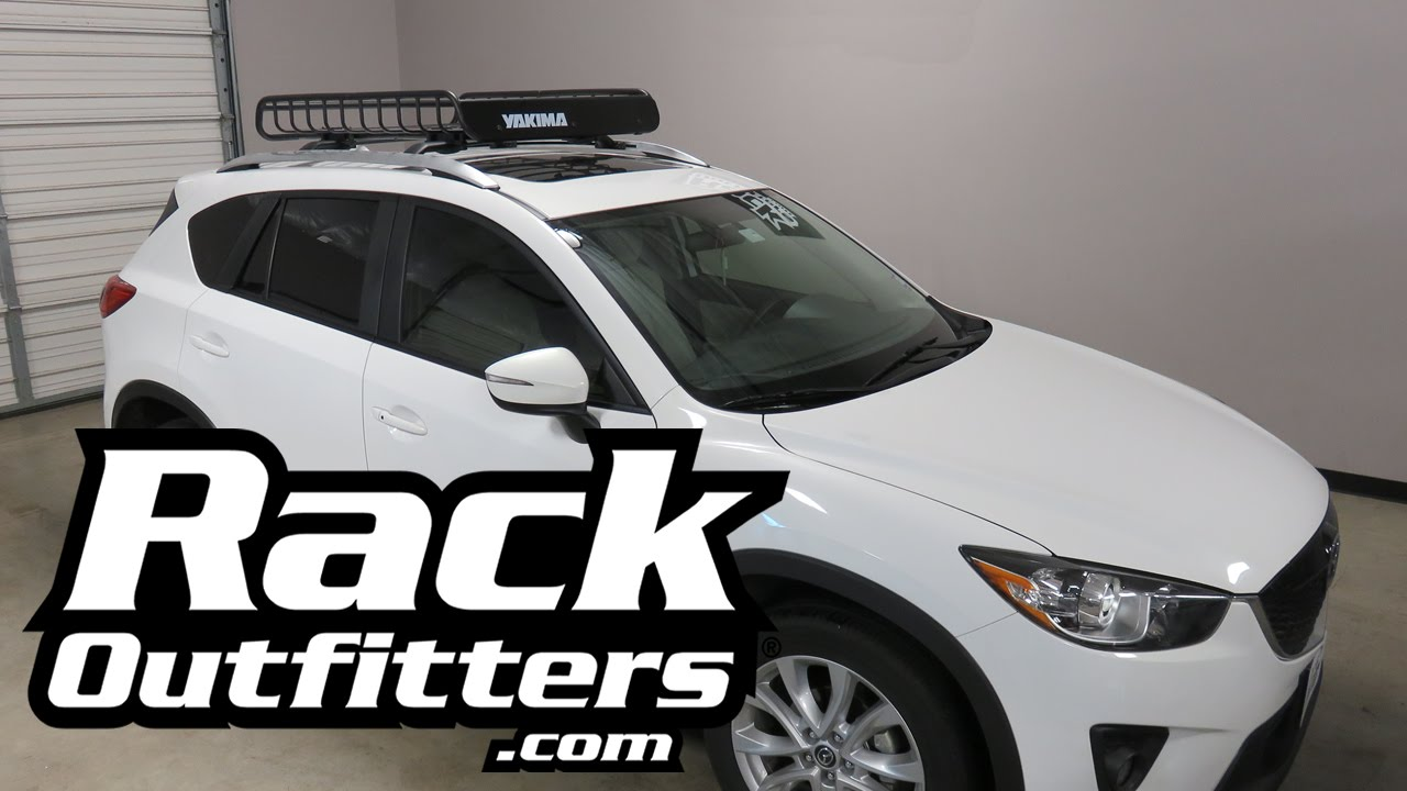 Nice Roof Rack For Mazda Cx 5 Oem Crossbars The Yakima