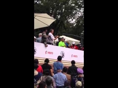 Tiger Woods' first visit to india speech