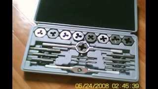 плашки и метчики Спарта(купил по глупости дрянь. не делайте так., 2013-06-17T14:46:51.000Z)
