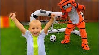 The Soccer Song (Football Song) | Eva Nursery Rhymes & Kids Songs | Eva Songs