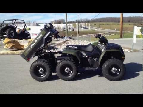 2012 Polaris Sportsman Big Boss 6x6 800 Sage Green