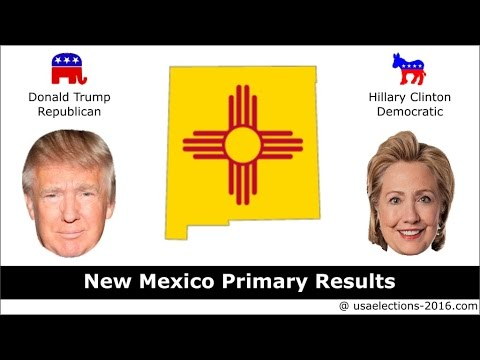 New Mexico Primary Result 2016 : US Election 2016