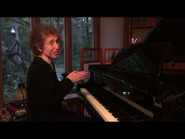 Improvisational Piano Concert, 5-4-19, Beth Green