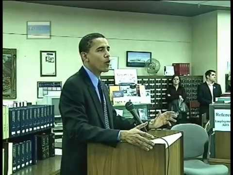 2004 Obama Peoria Town Hall