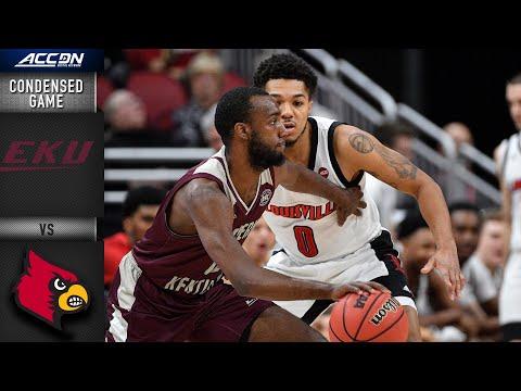 Eastern Kentucky Vs. Louisville Condensed Game | 2019-20 ACC Men's Basketball
