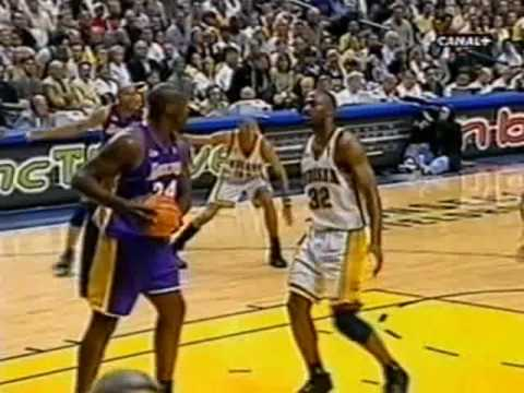 2000 NBA Finals: Lakers at Pacers, Gm 5 part 2/12 - YouTube