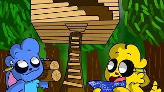 ¡CONSTRUIMOS LA MEJOR CASA DEL ÁRBOL! 😎 THE FOREST MIKELEX #6