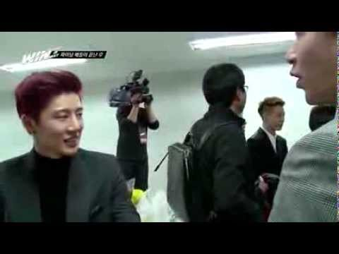 [ENG] WIN: Team B cut w/ family backstage (Ep11)