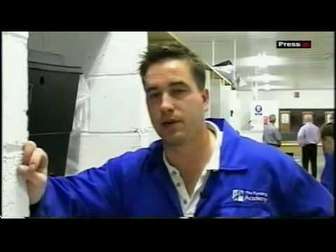 BBC visits The plumbing academy