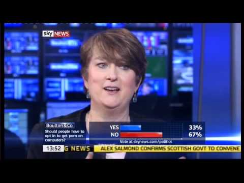 Jacqui Smith talks about her husbands porn rentals