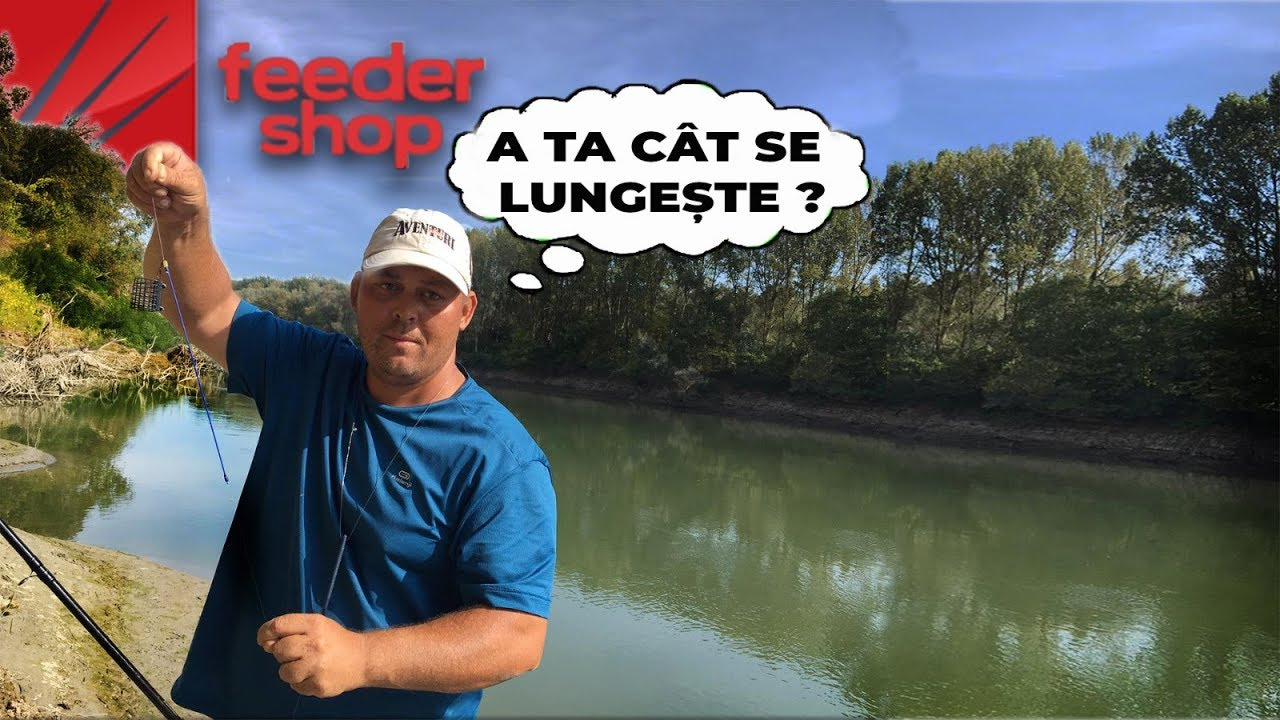 Scobari la Dunare ! Pescuit la Feeder pas cu pas