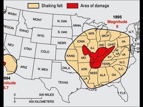 Fault Lines In Missouri Map.Earthquake Swarms Around New Madrid Fault Line Youtube
