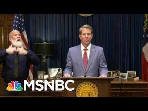 Georgia GOP Tightens Voting Rules In Wake Of Recent Losses | Morning Joe | MSNBC