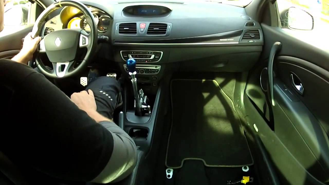 RENAULT MEGANE 3 RS with CAE Ultra Shifter - by CAE RACING
