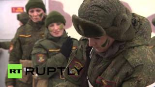 Video Russia: All-female military competition kicks off ahead of Int. Women's Day download MP3, 3GP, MP4, WEBM, AVI, FLV Oktober 2018