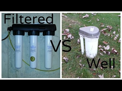 Aquaponics System Design - Filtered Water Vs. Well Water