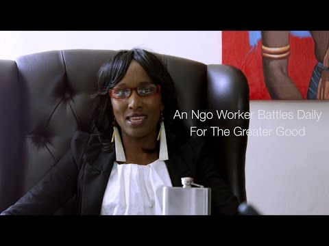 """""""An NGO Worker Battles Daily For The Greater Good"""" #3"""
