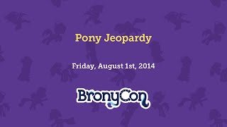 Pony Jeopardy