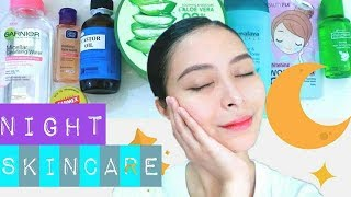 MY TIPID NIGHT TIME SKINCARE ROUTINE! PHILIPPINES l KATH MELENDEZ