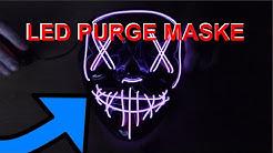 LED Purge Maske für Cosplay oder Fasching | Produkttest | Dresden | iTsRonny