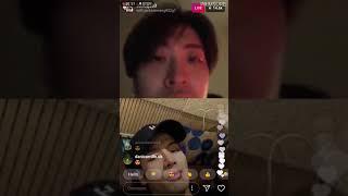 [180220] GOT7 Youngjae (영재) instagram live ft. Jackson (잭슨)