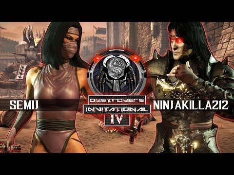 Mortal Kombat X: Ninjakilla_212 vs Semiij - Destroyer's Invitational IV Grand Finals thumbnail