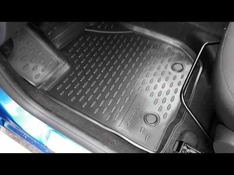 АВ-АКС.РУ: Коврики в салон 3D Renault Sandero с 2014 по наст. время