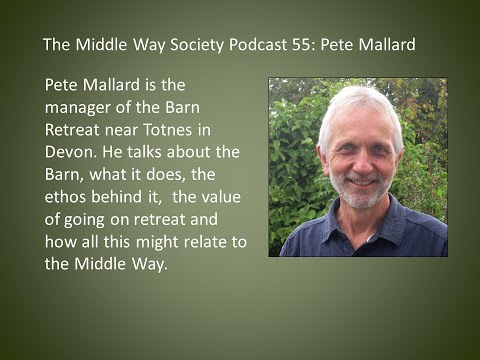 Peter Mallard on the Barn Retreat