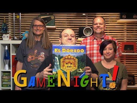 The Quest for El Dorado (Wettlauf nach El Dorado) - GameNight! Se5 Ep5 - How to Play and Playthrough
