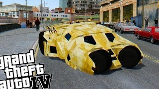 Grand Theft Auto IV - The Tumbler (Batman Batmobile)
