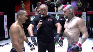 "Chris ""Kewl Bonez"" Morris vs Ayideng Jumayi REBEL FC 6 - China vs The World"