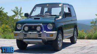homepage tile video photo for Mitsubishi Pajero Mini TURBO Review! 1800 Pounds of Fun