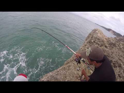 Street fishing balangan beach bali
