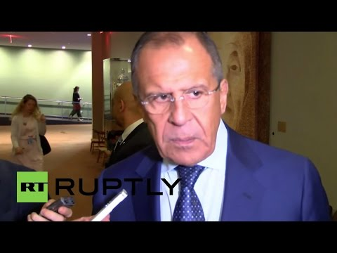 LIVE: Sergey Lavrov talks to press in the United Nations