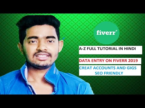 #fiverr kya he, fiverr account and gig kaise banaye professional 2019?online income ghar per40000/mo