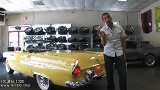 1955 Ford Thunderbird FOR SALE flemings ultimate garage
