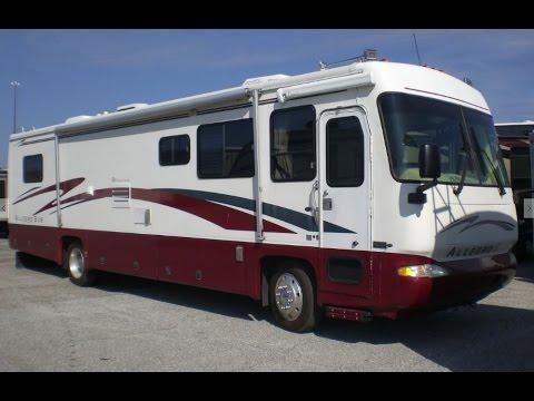 Pre Owned 1998 Tiffin Motorhome Allegro Bus 37 Mount Comfort Rv