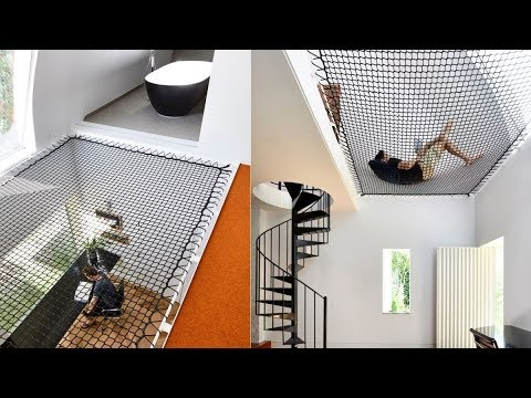 15 Amazing Homes With Nets Instead Of Floors