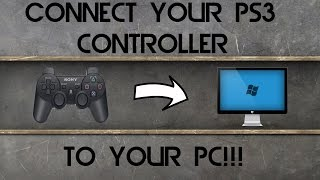 How to Connect PS3 Controller to PC Windows 10/8/7/XP/VISTA(No MotionJoy!)